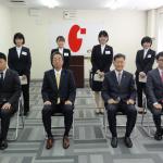 令和3年度 入社式を開催し新しい仲間が増えました。