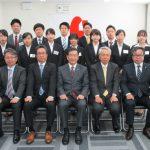 平成30年度 亀井通産(株)入社式開催しました。